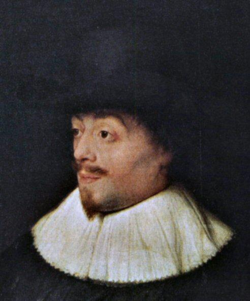"""Constantijn Huygens, volgens Kersten """"talig een zeer begaafd man""""."""