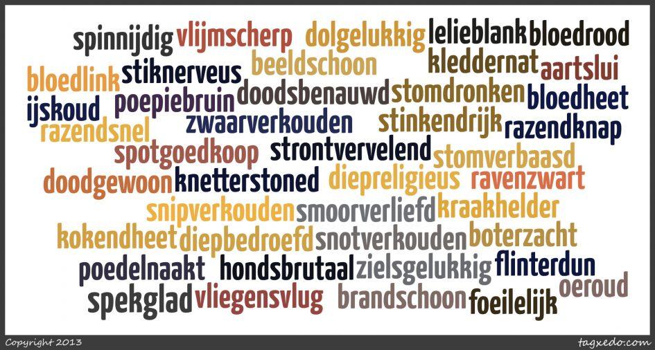 Ijskoud Bloedheet En Andere Intensiveringen Anne Sanderling